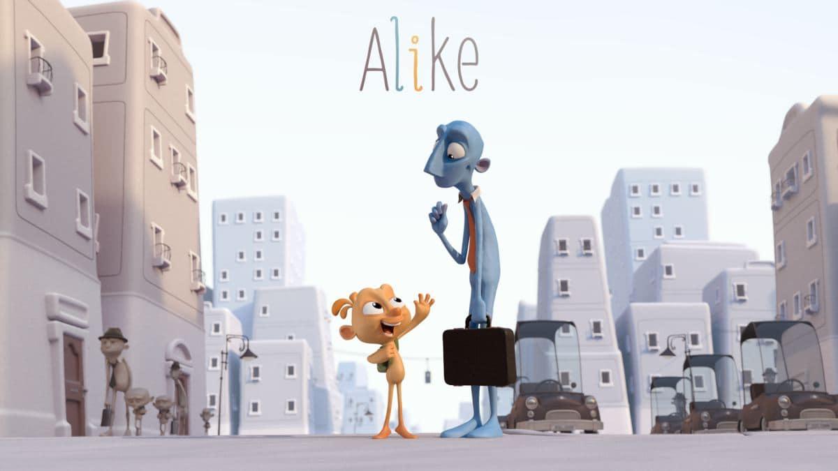 Alike – кратки анимирани филм